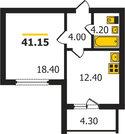 1 460 000 Руб., Владимир, Гвардейская ул, д.6гп, 1-комнатная квартира на продажу, Купить квартиру в Владимире по недорогой цене, ID объекта - 326304753 - Фото 2