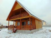 Новый дом с удобствами под ключ в дер.Аленино - 65 км Щёлковское шоссе
