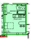 Продажа однокомнатные апартаменты 27.1м2 в Апарт-отель Юмашева 6