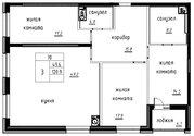 Продажа 3-комнатной квартиры, 120.9 м2