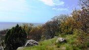 6 соток с красивым видом на море и горы, в 150м от моря, живописный р-н