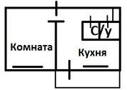 1комнатная на ул. Павлова