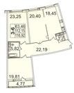 Продажа квартир ул. Пионерская, д.50 к.4-2
