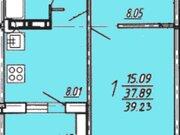 Продажа однокомнатной квартиры в новостройке на улице Артамонова, 34 в ., Купить квартиру в Воронеже по недорогой цене, ID объекта - 320575226 - Фото 1