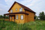 Новый дом из бруса 160 кв.м в жилой деревне в 87 км от МКАД