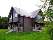 Жилой, теплый дом из бруса, в деревне с коммуникации, в 79 км от МКАД
