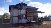 Пешково д, дом 135 кв м, участок 8 соток, прописка, ипотека. - Фото 1