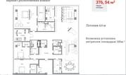 """ЖК """"Сады Пекина""""-Пентхаус 376,54 кв.м, 13/13 этаж, 1корпус, 10 спален"""
