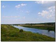 Красивый участок на берегу Москва - реки в деревне Хотяжи !