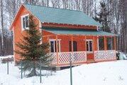 Красивая и качественная деревянная дача. - Фото 1