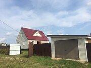 Новый брусовой дом в газифицированной деревне - 80 км Щелковское шоссе
