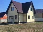 Аленино д, дом с газом 110 кв.м (пеноблоки) в старой части деревни - Фото 1