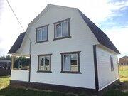 Новый дом с коммуникациями в дер.Юрцово - 80 км Щелковское шоссе - Фото 4