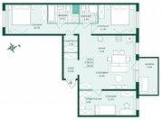 Продажа 3-комнатной квартиры, 90.82 м2