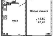 1 750 000 Руб., Продажа квартиры, Краснодар, Улица Лавочкина, Купить квартиру в Краснодаре по недорогой цене, ID объекта - 325546708 - Фото 3