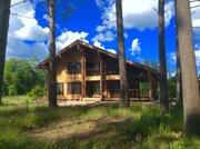 Громово, озеро Суходольское, 84 сотки + коттедж 280 м/кв. - Фото 1
