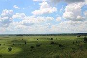 Просторный участок с панорамным видом на долину реки Оки - Фото 1