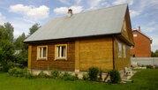 Продается зимняя дача из бревна с баней Верхнее пикалово Чехов - Фото 2