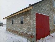 Кирпичная коробка дома с гаражом и окнами в Разумное - Фото 3
