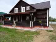 Григорово. Новый дом в деревне из оцилиндрованного бревна с отличной п - Фото 1