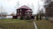 Дом у леса 300 кв.м. из сруба на 12 сот. Домодедовский р-н. - Фото 1