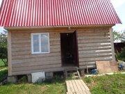 Земельный участок 12 соток с бревенчатым домом 6*4 и мансардой в д. . - Фото 2