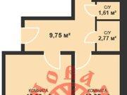 Продажа двухкомнатной квартиры в новостройке на Красногвардейской ., Купить квартиру в Самаре по недорогой цене, ID объекта - 320163536 - Фото 2