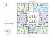 Продажа трехкомнатная квартира 74.06м2 в ЖК Каменный ручей гп-2, Купить квартиру в Екатеринбурге по недорогой цене, ID объекта - 315127800 - Фото 2