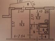1 650 000 Руб., 1-комнатная в 11-м микрорайоне, Купить квартиру в Омске по недорогой цене, ID объекта - 321284329 - Фото 20