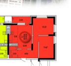 Двухкомнатная квартира - smart в ЖК «Затонские Зори»