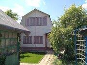 2-эт теплый дом СНТ пэмз № 10, Гаражный пр-д, 15 км от МКАД, прописка. - Фото 2