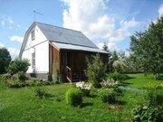 Дом, баня, летний дом 25 соток земли заповедные места д. Барыбино. - Фото 1