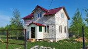 Дом 98кв.м. под ключ, на 7 сотках, д. Скрипово в 3км. от п.Заокский - Фото 1