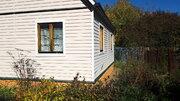 Теплый Дом 54кв.м. на 10 сотках + 40 соток рядом, д.Вишенки 100км МКАД - Фото 3