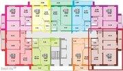 Продам 1-тную квартиру Краснопольский пр31,11эт, 47 кв.м.Цена 1678 т.р, Купить квартиру в новостройке от застройщика в Челябинске, ID объекта - 327571937 - Фото 3