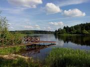 Участок на 1-й линии реки Хотча, д. Юминское Кимрский район - Фото 1