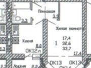 1 647 830 Руб., Продажа однокомнатной квартиры в новостройке на улице Кривошеина, ., Купить квартиру в Воронеже по недорогой цене, ID объекта - 320575230 - Фото 2