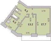 Квартира, Мурманск, Олега Кошевого, Купить квартиру в Мурманске по недорогой цене, ID объекта - 323054639 - Фото 11