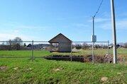 Участок с газом в деревне Калеево, есть баня. Свет подключен - Фото 1