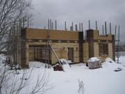 Недостроенный жилой дом на 15 сот. д.Рождествено - Фото 1