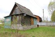 Дача с домиком из бревна на ленточном фундаменте - Фото 1