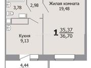 Продам 1 комн 36.7 кв м Судостроительная 25д Сдан Цена 1800 т р - Фото 3