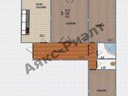 Продажа трехкомнатной квартиры на Гаражной улице, 67 в Краснодаре, ЖК ., Купить квартиру в Краснодаре по недорогой цене, ID объекта - 320268759 - Фото 1