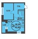 1 комнатная квартира в кирпичном доме, ул. Харьковская, д. 66