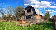 Оформленный участок с домом в деревне Никиты Волоколамского района МО