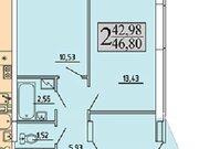Продажа двухкомнатной квартиры в новостройке на улице Хользунова, 99 в ., Купить квартиру в Воронеже по недорогой цене, ID объекта - 320571991 - Фото 2