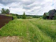 Участок 15 ИЖС сот в д. Большие Горки, Рузский район, 80 км от МКАД