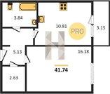 Продажа квартиры, Пенза, Ул. Бородина, Купить квартиру в Пензе по недорогой цене, ID объекта - 322719836 - Фото 6