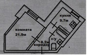 Продается комфортная 1-ком квартира в новом доме 47м!
