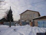Дом с баней на участке с собственным прудом - Фото 1
